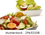 fresh sprin vegetables in a... | Shutterstock . vector #29632108