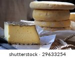 A Still Life Of French Cheeses...