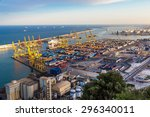 Panoramic View Of The Port In...