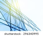 abstract building from the... | Shutterstock .eps vector #296340995
