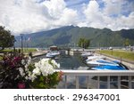 aix les bain   savoie... | Shutterstock . vector #296347001