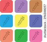 vector illustration of modern... | Shutterstock .eps vector #296348057