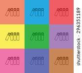 vector illustration of modern... | Shutterstock .eps vector #296351189