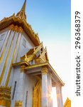 temple   building  thailand ... | Shutterstock . vector #296368379