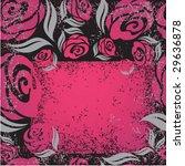 black background with grunge...   Shutterstock .eps vector #29636878