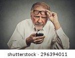 closeup portrait headshot... | Shutterstock . vector #296394011