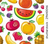 seamless juicy fruit texture.... | Shutterstock .eps vector #29640046