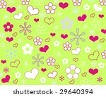 funny summer background   Shutterstock . vector #29640394