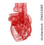 human heart | Shutterstock . vector #296413385
