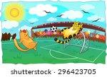 vector illustration of cartoon...   Shutterstock .eps vector #296423705