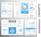 business graphics brochures | Shutterstock .eps vector #296450771