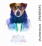 Cute Fashion Hipster Animals...