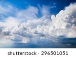 Sky Background With Tiny Clouds