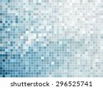 abstract square pixel mosaic... | Shutterstock .eps vector #296525741
