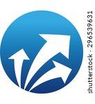 arrows | Shutterstock .eps vector #296539631