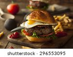 Homemmade Bacon Hamburger With...