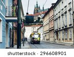 prague  czech republic   june... | Shutterstock . vector #296608901