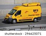 frankfurt germany april 24... | Shutterstock . vector #296625071