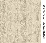Vector Hand Drawn Wood Texture...