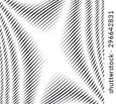 noisy contrast lined backdrop ... | Shutterstock .eps vector #296642831
