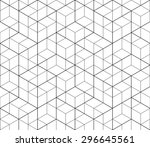 black and white abstract... | Shutterstock .eps vector #296645561