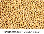 Macro Shot Of Soybeans Fills...