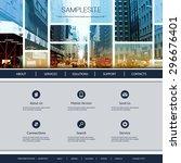 website design for your...   Shutterstock .eps vector #296676401