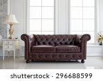 vintage style of interior... | Shutterstock . vector #296688599