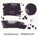 set of ink blots  droplets ... | Shutterstock .eps vector #296694125