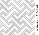 abstract geometric patternby... | Shutterstock . vector #296696441