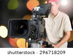 film  camera  video. | Shutterstock . vector #296718209