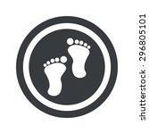 image of human footprints in...