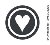 image of hearts card symbol in...