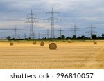 Electrical Towers. Twisted...