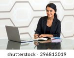 office consultant executive... | Shutterstock . vector #296812019