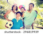 family happiness parents... | Shutterstock . vector #296819939