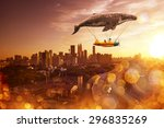 i belive i can fly   Shutterstock . vector #296835269