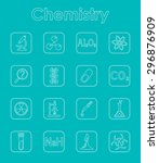 it is a set of chemistry simple ...   Shutterstock .eps vector #296876909