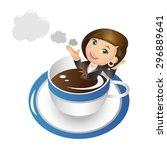 people set   business  ... | Shutterstock .eps vector #296889641
