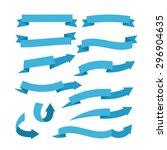 ribbon vector | Shutterstock .eps vector #296904635
