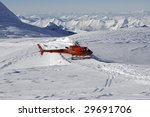 Air Rescue In Snow Mountain...