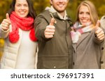 friendship  gesture  season and ... | Shutterstock . vector #296917391