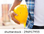 building  construction ... | Shutterstock . vector #296917955