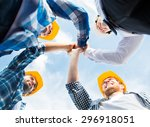 business  building  partnership ... | Shutterstock . vector #296918051
