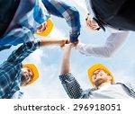 business  building  partnership ... | Shutterstock . vector #296918051