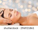 spa  beauty  people and body... | Shutterstock . vector #296921861