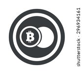 image of coin with bitcoin...