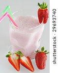 strawberry milk shake | Shutterstock . vector #29693740