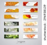 business design templates. set... | Shutterstock .eps vector #296938139