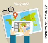 navigation illustration....